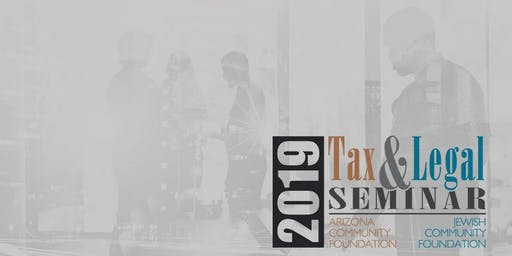 2019 Tax and Legal Seminar