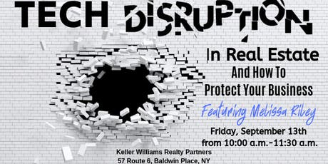 Tech Disruption In Real Estate: How To Protect Your Business tickets