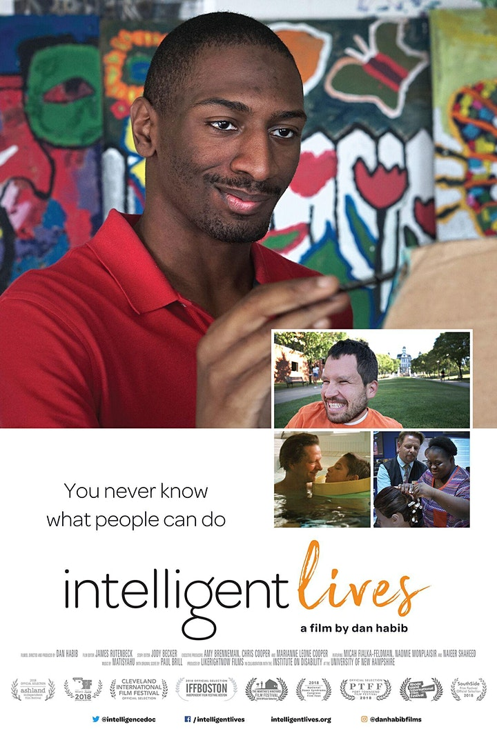 Intelligent Lives Film Screening image