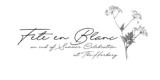 Fête en Blanc : An End of Summer Soiree