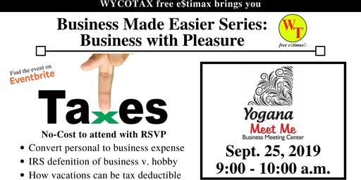 Business Made Easier: Business with Pleasure
