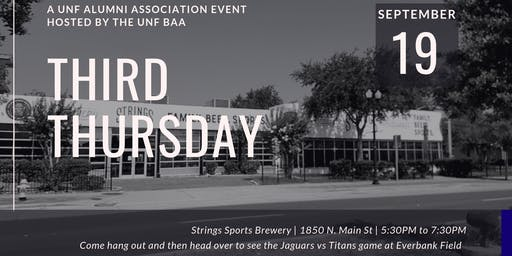Third Thursday (A UNF Alumni Association Event Hosted By UNF BAA)