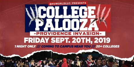 COLLEGE PALOOZA (PROV, RI) NU ENGLAND'S BIGGEST COLLEGE PARTY tickets