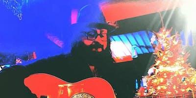 Guitarist Curtis Jones Performs at The Coffee Vineyard