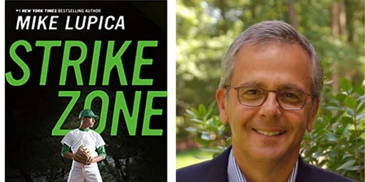 Author Mike Lupica Book Signing for New Book Strike Zone