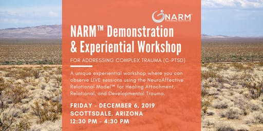 Healing Developmental Trauma: NARM™  Demonstration & Experiential Workshop