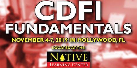 CDFI Fundamentals November 4-7, 2019 entradas