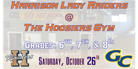 Harrison Lady Raiders @ the Hoosiers Gym tickets
