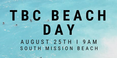 TBC BEACH DAY tickets