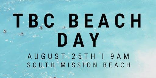 TBC BEACH DAY