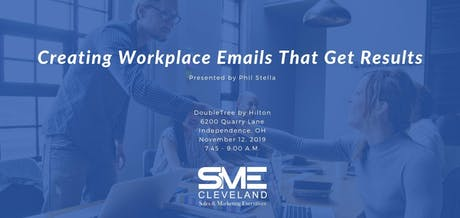 Creating Workplace Emails that get Results tickets