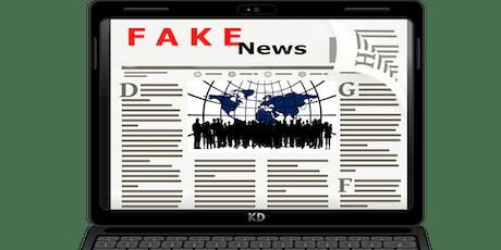 Fighting Fake News (Information Literacy Series Part 4) tickets