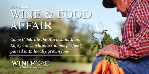 Wine & Food Affair 2019 ~ Sonoma County 21st Annual