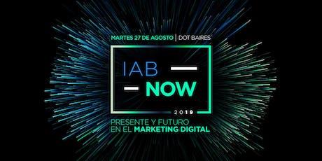 IAB Now 2019 entradas