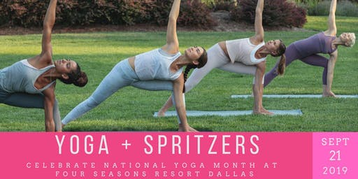 Yoga + Spritzers at Four Seasons Resort Dallas