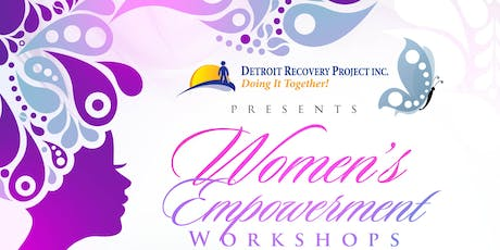 DRP Women's Empowerment Workshop Summer 2019 tickets
