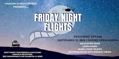 Friday Night Flights featuring Grease tickets