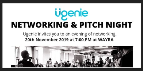 Ugenie Pitching & Networking  tickets