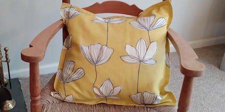 Cushion Cover (unzipped) Workshop tickets