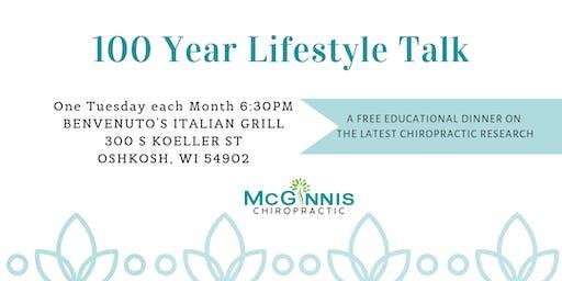 100 Year Lifestyle Talk