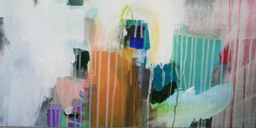 Abstract Painting Workshop with Laura Mayberry  *BREWERY EDITION*