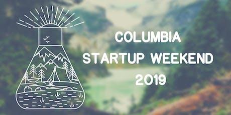 Techstars Startup Weekend Columbia 2019 tickets