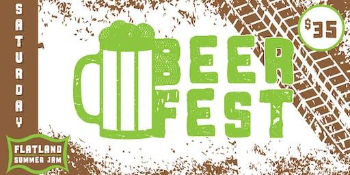 Beer Fest at Flatland Summer Jam