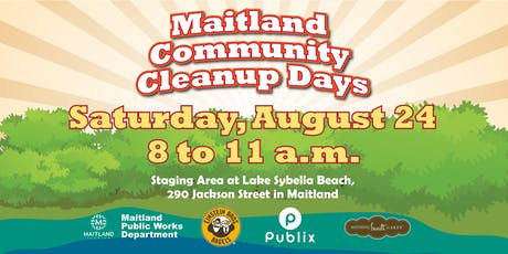 Maitland Community Cleanup Day - Lake Sybelia tickets
