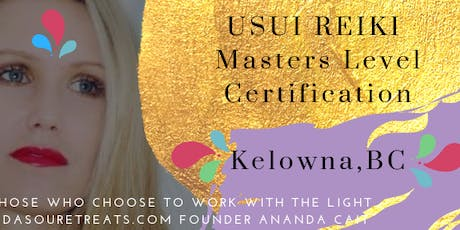 Reiki Masters Certification with Ananda Cait tickets