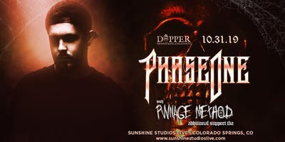 "Dapper Presents ""PhaseOne"" @SunshineStudiosLive"