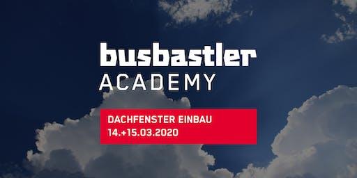 Busbastler Academy - Dachfenster Einbau