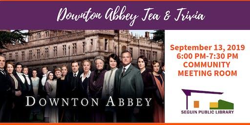 Downton Abbey Tea & Trivia