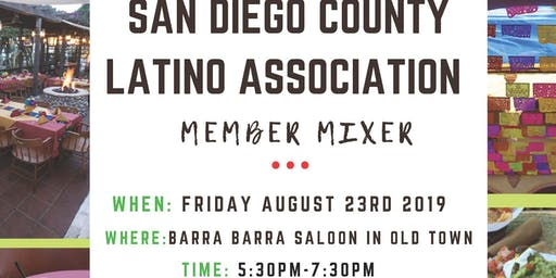 SDCLA Networking Mixer