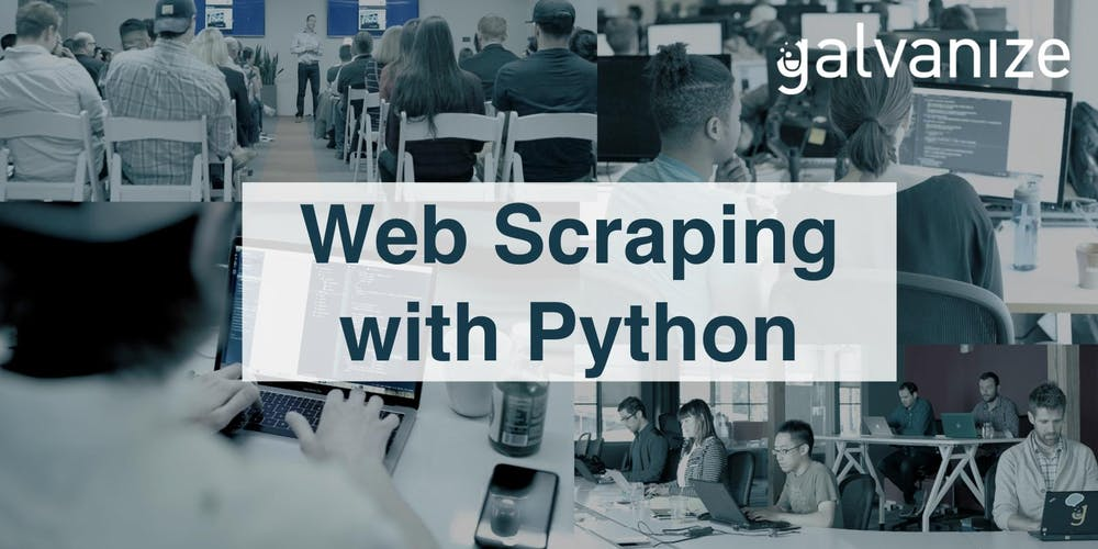 Web Scraping with Python Tickets, Multiple Dates | Eventbrite