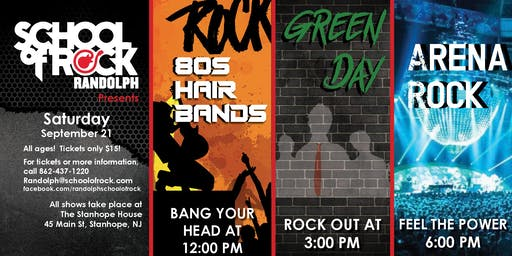 School of Rock Randolph Presents: 80s Hair Bands