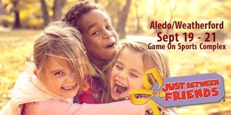 FREE General Admission Ticket ~ JBF Aledo/Weatherford ~ Shop 9/19, 9/20 & 9/21 tickets