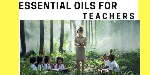 Webinar Essential Oils + Teachers