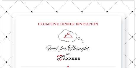 Exclusive Dinner Invitation tickets
