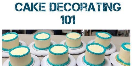 Cake Decorating: Introduction to Cake Decorating tickets