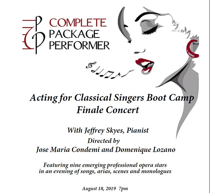 Acting for Classical Singers Boot Camp Finale Concert image
