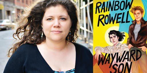 Rainbow Rowell at Presser Hall!