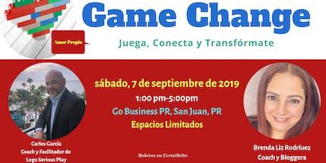 Game Change: Juega, Conecta y Transfòrmate tickets