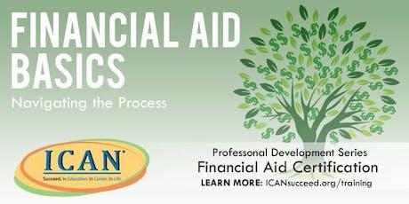 Financial Aid Basics - Navigating the Process tickets
