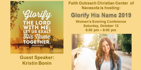 Glorify His Name 2019 tickets