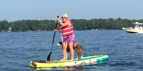 PUP Paddle | Benefits Lake Norman Humane tickets