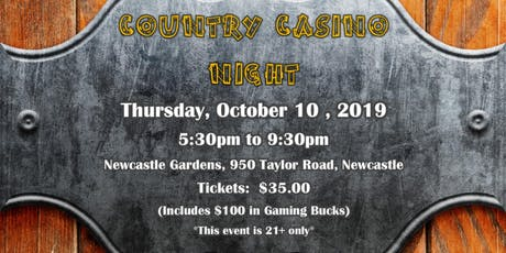 PCAR Foundation Country Casino Night 2019 tickets