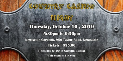 PCAR Foundation Country Casino Night 2019