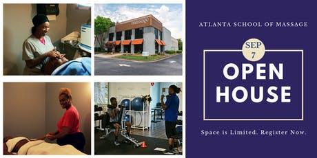Open House at Atlanta School of Massage tickets