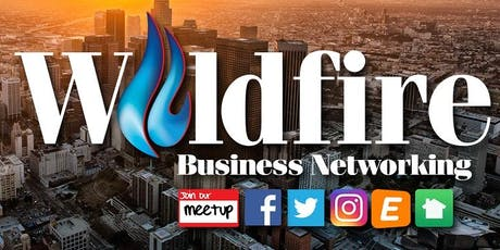 Wildfire Business Networking - August Event Series tickets