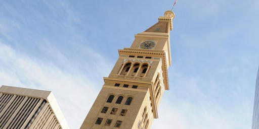 DOD: Daniels & Fisher Clock Tower with Historic Denver